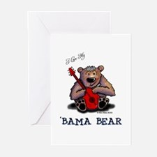 Luv My 'BAMA BEAR Greeting Cards (Pk of 10)