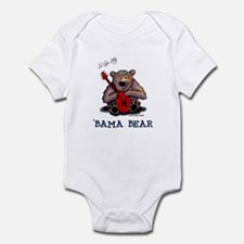 Luv My 'BAMA BEAR Infant Bodysuit