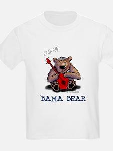 Luv My 'BAMA BEAR Kids T-Shirt