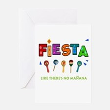 Spanish Party Card Greeting Cards