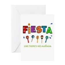 Spanish Party Greeting Card