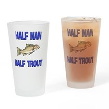 TROUT9727 Drinking Glass
