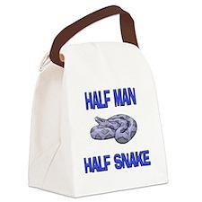SNAKE2564 Canvas Lunch Bag