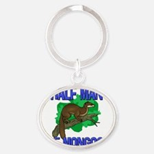 MONGOOSE29167 Oval Keychain