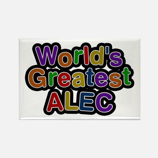 World's Greatest Alec Rectangle Magnet