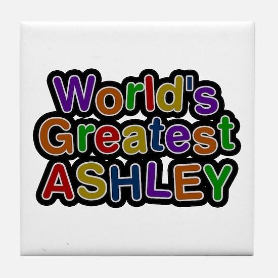 World's Greatest Ashley Tile Coaster