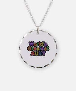 World's Greatest Aunt Necklace