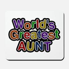 World's Greatest Aunt Mousepad