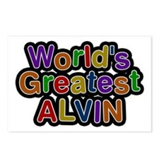 World's Greatest Alvin Postcards 8 Pack