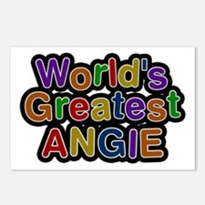 World's Greatest Angie Postcards 8 Pack