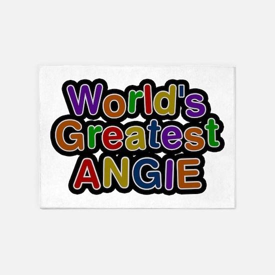 World's Greatest Angie 5'x7' Area Rug