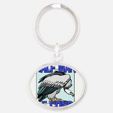 CONDOR104318 Oval Keychain