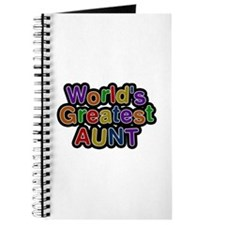 World's Greatest Aunt Journal