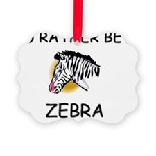 ZEBRA521 Ornament