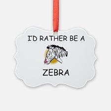 ZEBRA521 Ornament