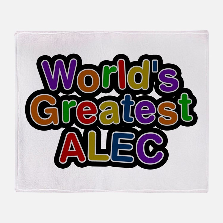 World's Greatest Alec Throw Blanket