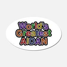 World's Greatest Aidan Wall Decal