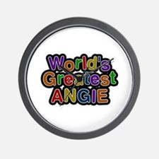 World's Greatest Angie Wall Clock