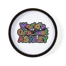 World's Greatest Ashley Wall Clock