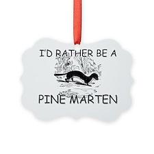 PINE-MARTEN140122 Picture Ornament