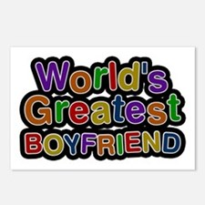 World's Greatest Boyfriend Postcards 8 Pack