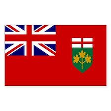 Ontario Flag Rectangle Decal