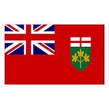 Canadian provinces Bumper Stickers