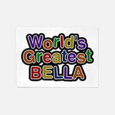 World's Greatest Bella 5'x7' Area Rug