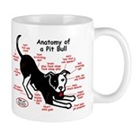 Pitbull Anatomy Mug