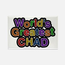 World's Greatest Chad Rectangle Magnet