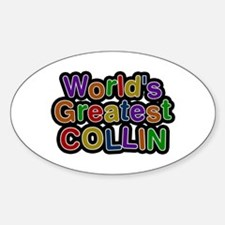 World's Greatest Collin Oval Decal