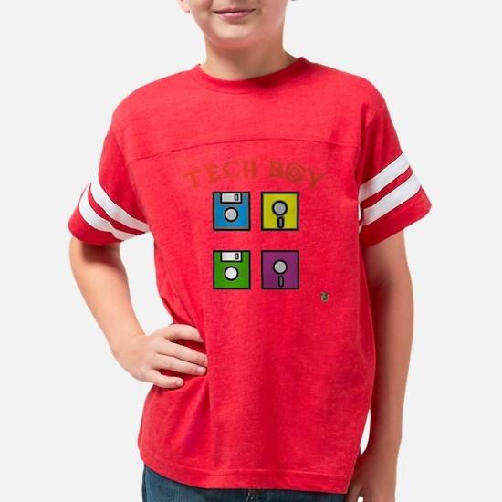 2-TECH-BOY Youth Football Shirt