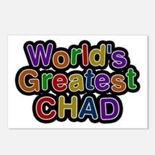 World's Greatest Chad Postcards 8 Pack