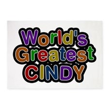 World's Greatest Cindy 5'x7' Area Rug