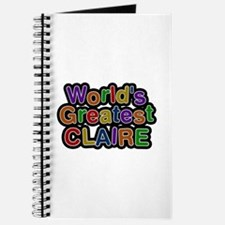 World's Greatest Claire Journal
