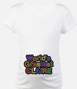 World's Greatest Claire Shirt