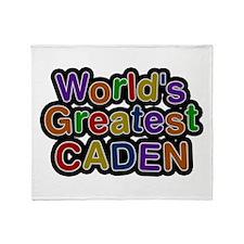 World's Greatest Caden Throw Blanket