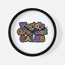 World's Greatest Caleb Wall Clock