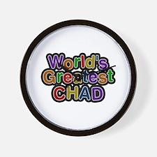 World's Greatest Chad Wall Clock