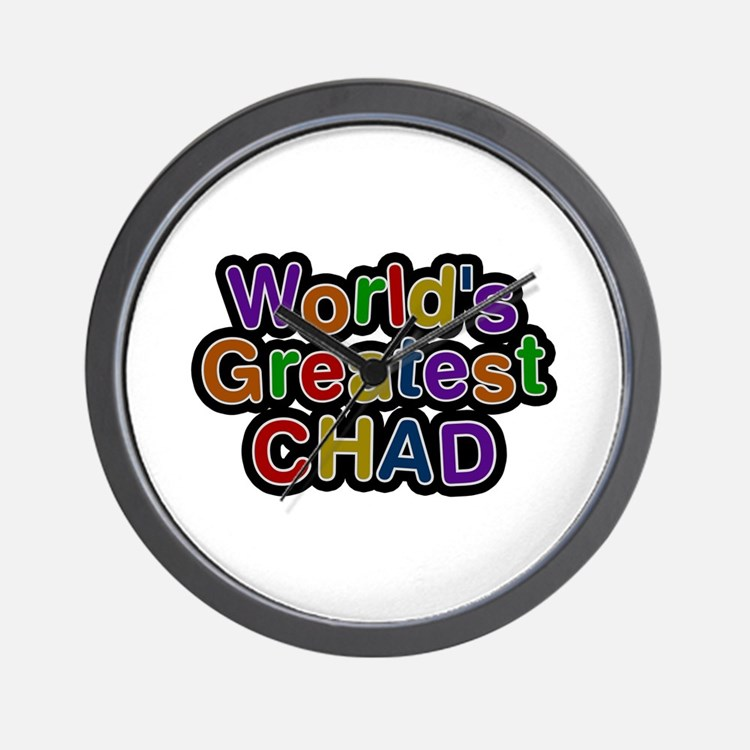 World's Greatest Chad Wall Clock