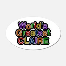 World's Greatest Claire Wall Decal