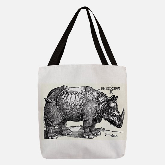 Rhino Polyester Tote Bag