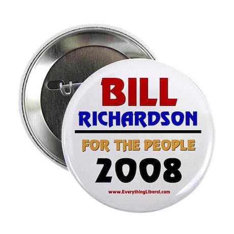 "Bill Richardson 2008 2.25"" Button (100 pack)"