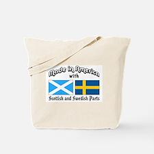 Scottish-Swedish Tote Bag