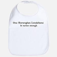 One Norwegian Lundehund Bib