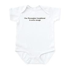One Norwegian Lundehund Infant Bodysuit