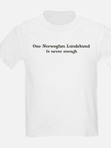 One Norwegian Lundehund Kids T-Shirt