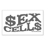 Sex Cells-$ex Cell$ Rectangle Sticker