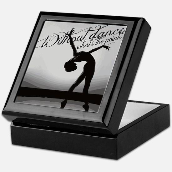 Ballet Dancer Keepsake Box