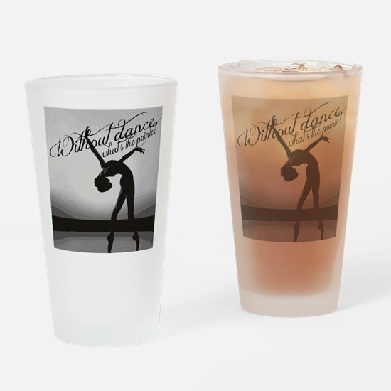 Ballet Dancer Drinking Glass